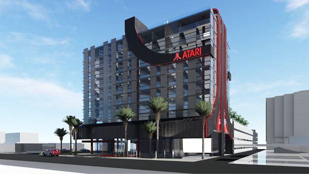 Wizualizacja hotelu Atarti