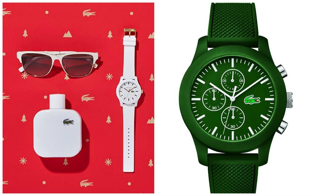 Kolorowe święta z Lacoste - propozycje zegarków dla niej i dla niego