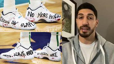"""Słowa i buty Enesa Kantera postawiły na baczność i chiński rząd, i władze Nike. """"Hipokryci"""""""