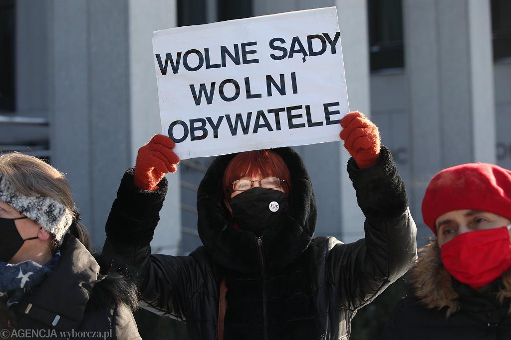 Protest sędziów