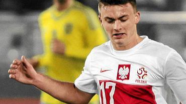 Karol Linetty z Lecha Poznań w barwach reprezentacji Polski