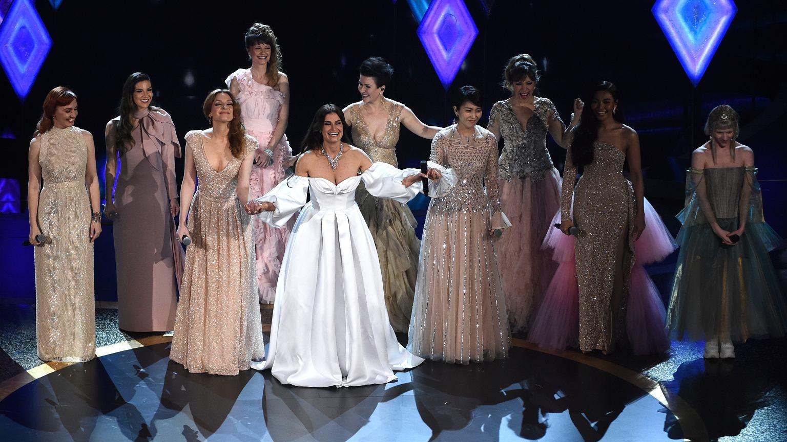 Oscary 2020. Kasia Łaska, czyli polska Elsa z 'Krainy lodu', zaśpiewała na początku gali