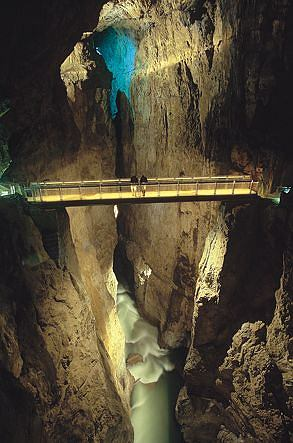 Słowenia - Jaskinie Szkocjańskie / www.park-skocjanske-jame.si