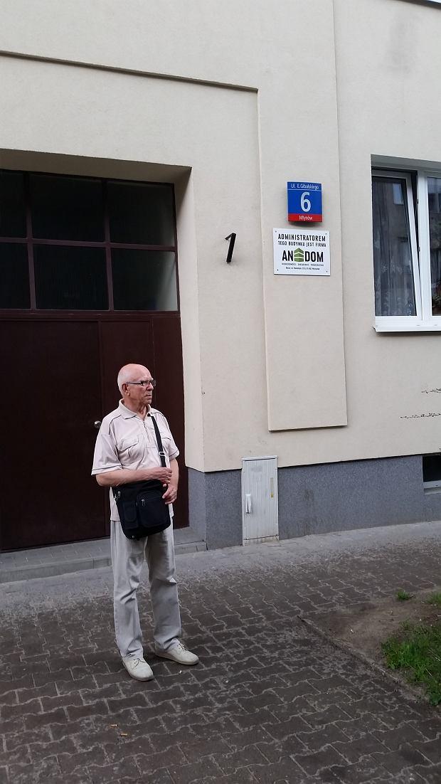 W tym miejscu ostatni raz widziałem ojca