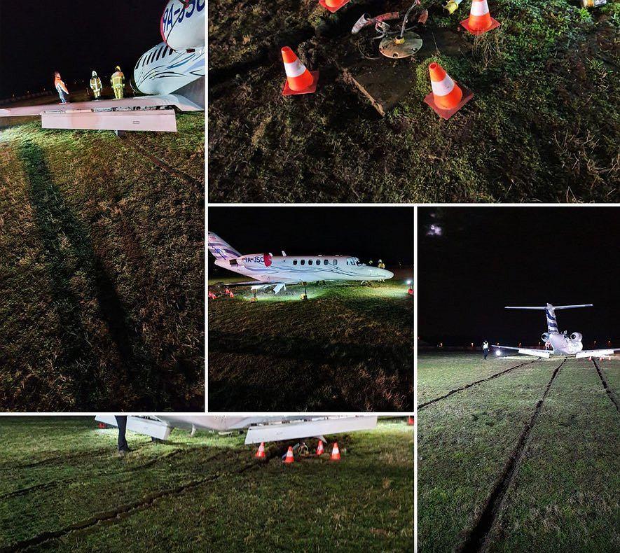Samolot z Driesem Mertensem