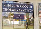 Koronawirus. Pacjentka uciekła ze szpitala zakaźnego w Ostródzie