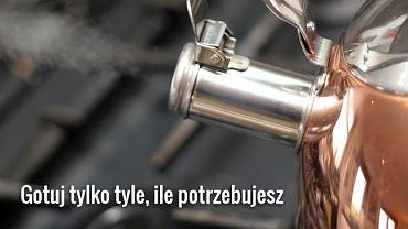 Jak oszczędzić gotując wodę?