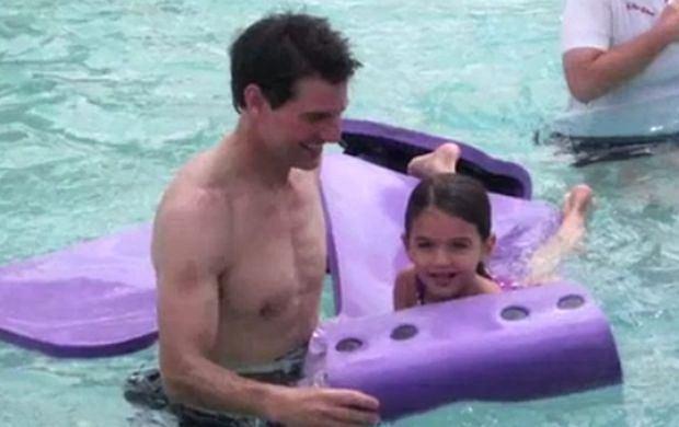 Tom Cruise z córką Suri.