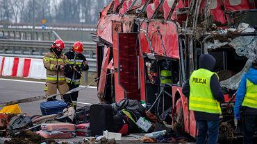 Podkarpacie. Wypadek ukraińskiego autokaru