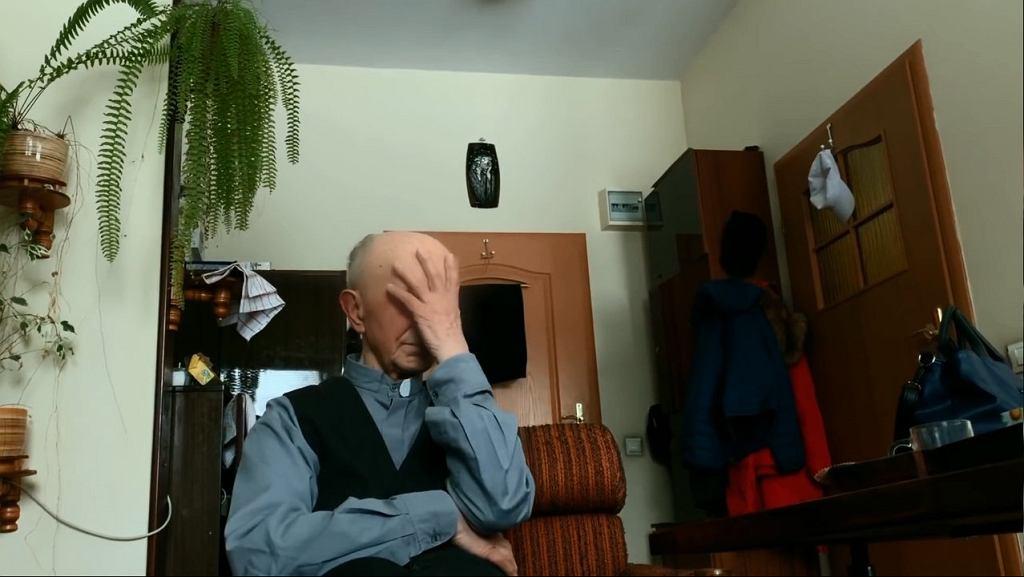 Kadr z filmu Tomasza Sekielskiego 'Tylko nie mów nikomu'