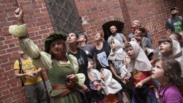 Trasa rodzinna na zamku w Malborku