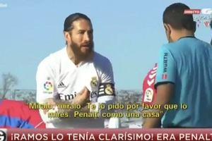 """Sergio Ramos nie mógł uwierzyć, krzyczał do sędziego. """"To cud"""""""
