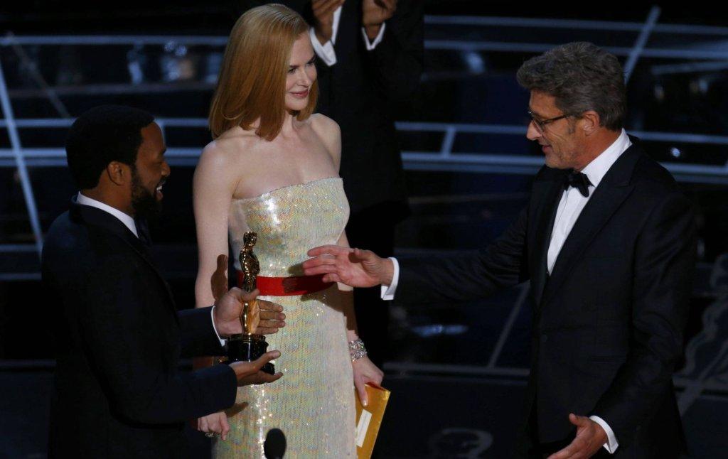Chiwetel Ejlofar, Nicole Kidman i Paweł Pawlikowski