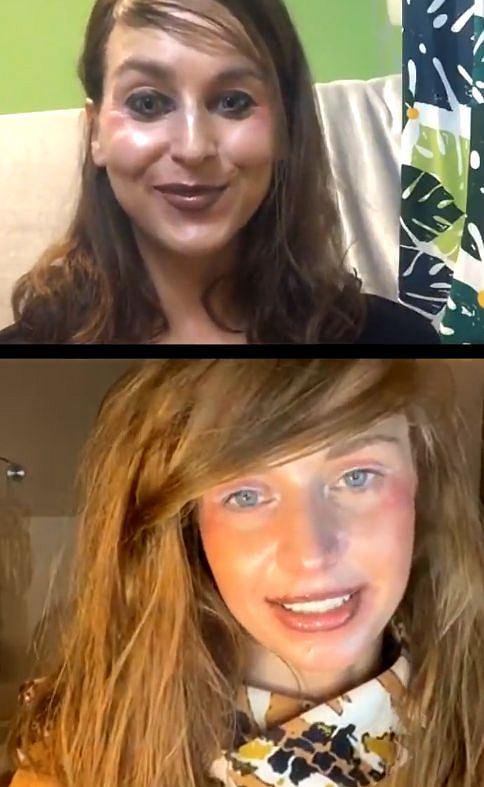 Julia Kamińska z przyjaciółką zastosowały najnowsze trendy makijażowe