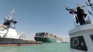 """Kanał Sueski już odblokowany. Podano wstępne przyczyny zatoru. """"Nieodpowiedni manewr kapitana"""""""