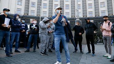 Ukraina. Protest przedsiębiorców