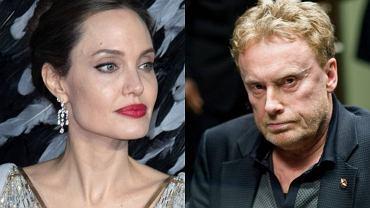 Angelina Jolie i Daniel Olbrychski