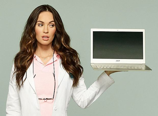 Acer Aspire S7 i Megan Fox