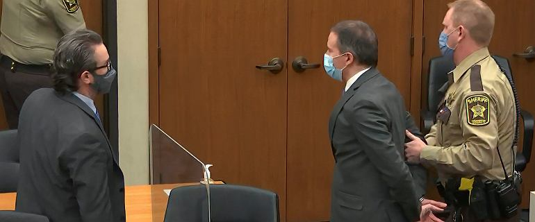 USA. Ława przysięgłych uznała Dereka Chauvina za winnego