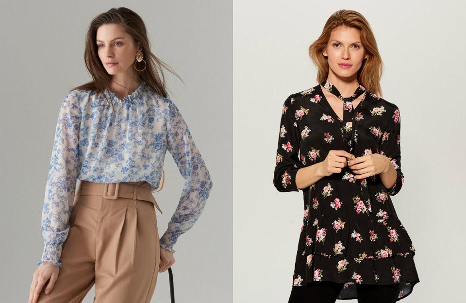 Bluzki w kwiaty to element garderoby, który nigdy nie wychodzi z mody
