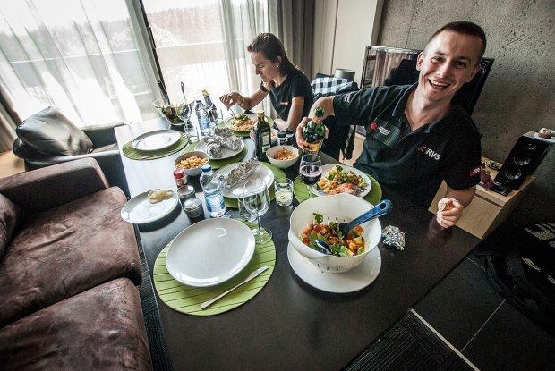 wspólne posiłki