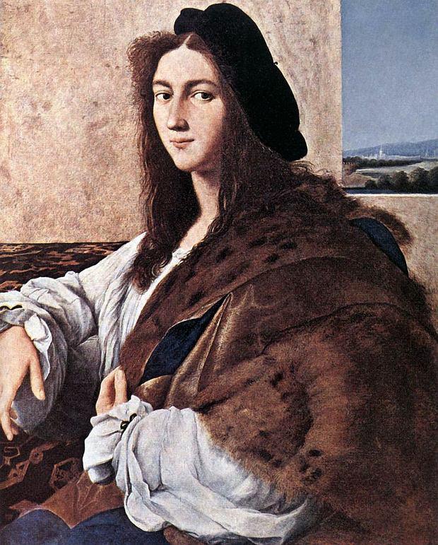 Rafael Santo, Portret młodzieńca, 1514