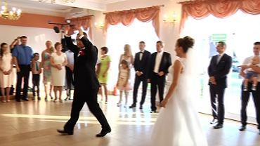 Nietypowy pierwszy taniec weselny
