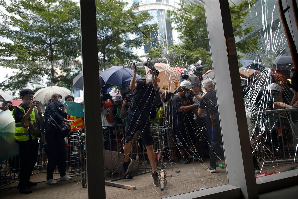 Hongkong. Trwają protesty przeciwko ustawie ekstradycyjnej