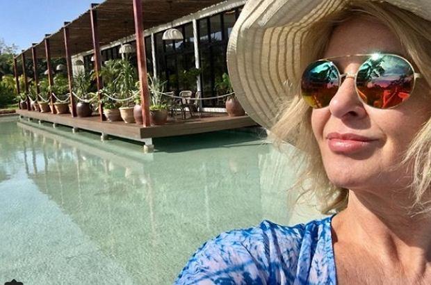 Majka Jeżowska na wakacjach
