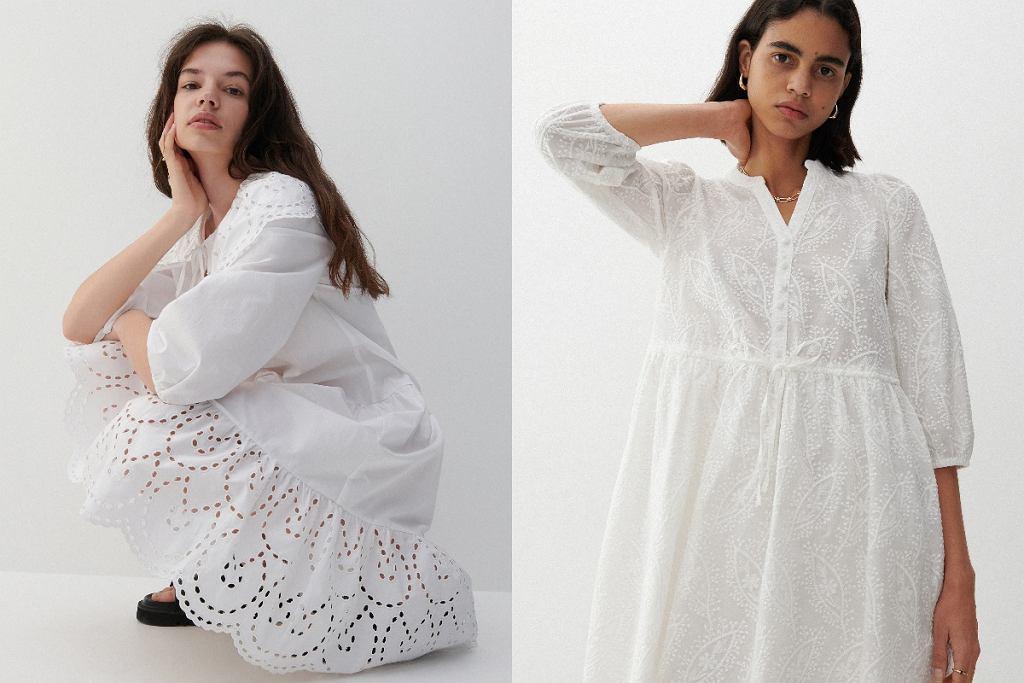 Ażurowe sukienki mini