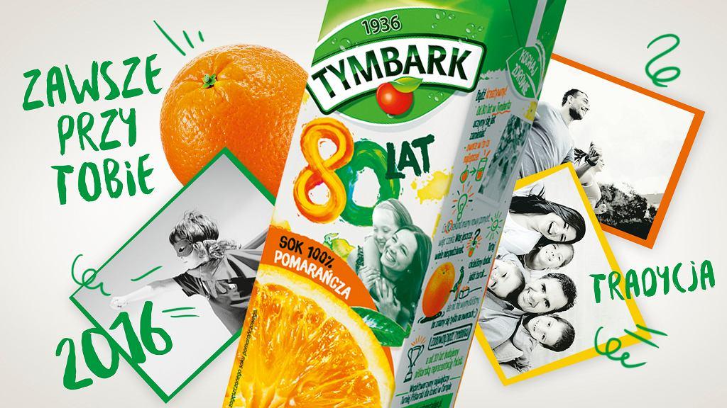 80-lecie marki Tymbark