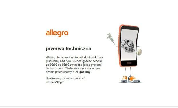Awaria w Allegro. Użytkownicy logują się na cudze konta
