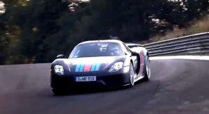 Zobacz jak Porsche 918 biło rekord