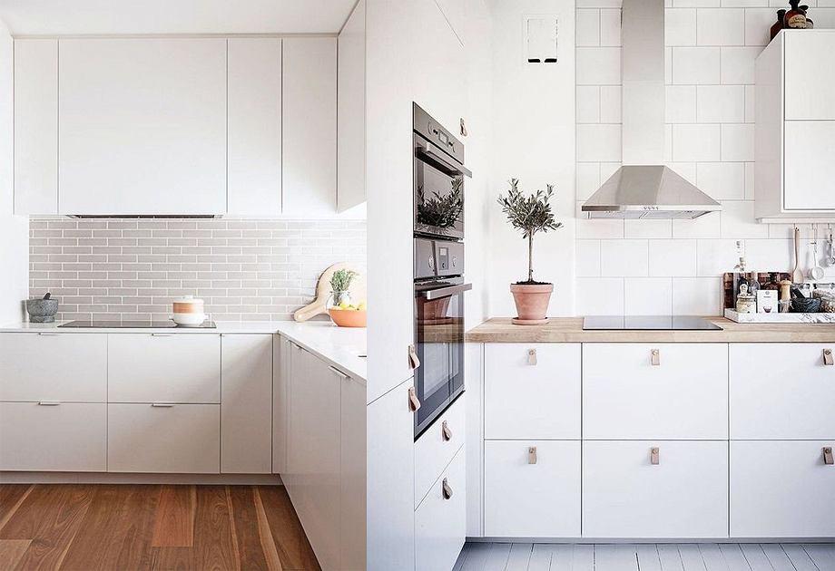 Biała kuchnia w minimalistycznym stylu