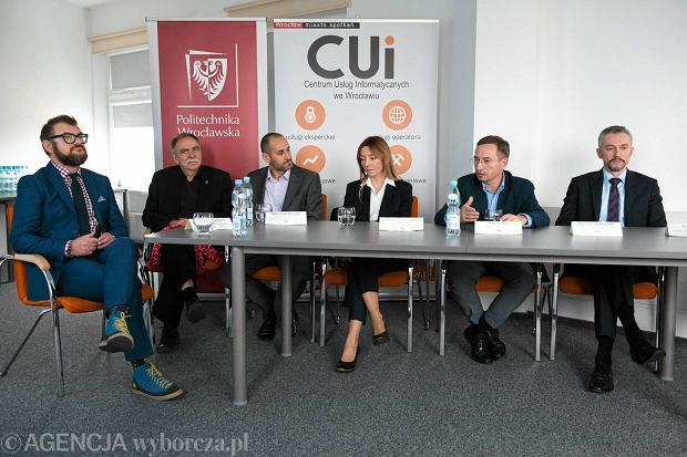 Konferencja na temat programu Wrocław Koduje 2.0