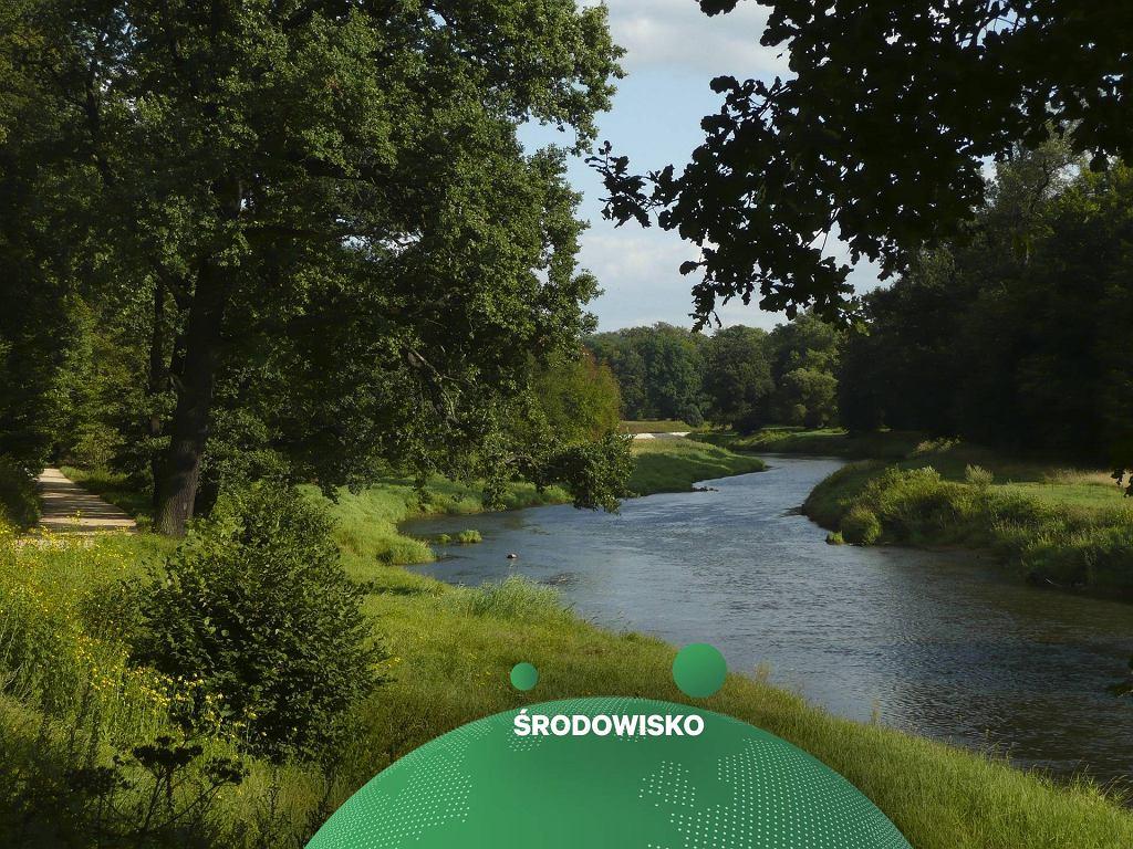 Rzeka- zdjęcie ilustracyjne
