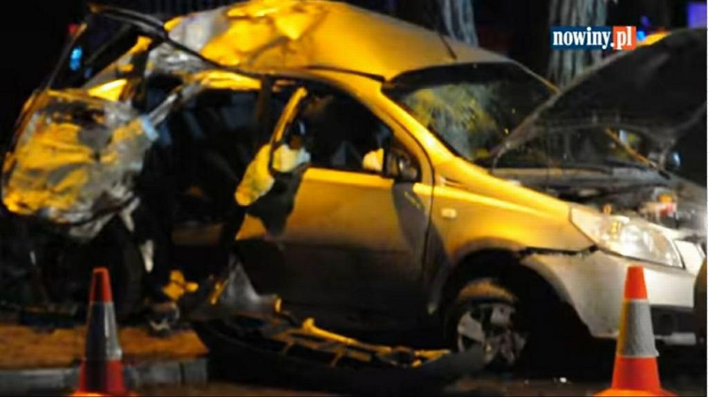Wypadek w Czerwionce