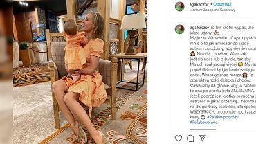 Agnieszka Kaczorowska  radzi, jak podróżować z dzieckiem