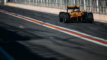 Robert Kubica na testach w Walencji