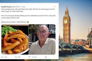 """""""Tata 'potrzebuje terapii' po zapłaceniu 54 funtów za obiad"""". """"Skandal narodowy"""" w Wielkiej Brytanii"""