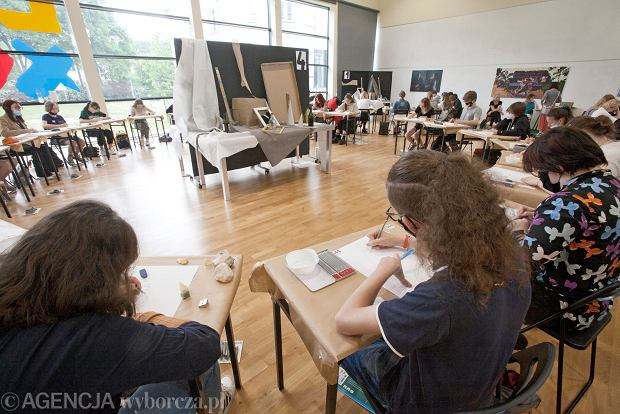 Zdjęcie numer 0 w galerii - W Gdyni odbyły się egzaminy wstępne do Liceum Sztuk Plastycznych [ZDJĘCIA]