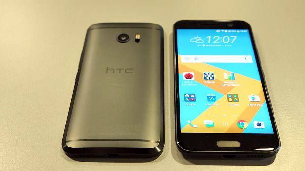 HTC 10 - rzut z tyłu i z przodu