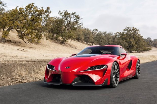 Salon Detroit 2014 | Toyota FT-1