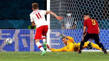 Euro 2020. Mecz Polska - Hiszpania