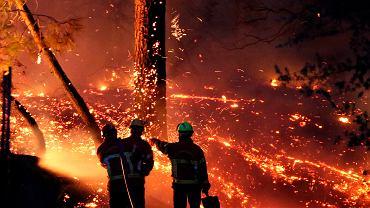 Pożary lasów we Francji