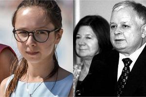 Ewa Dubieniecka, Maria i Lech Kaczyńscy