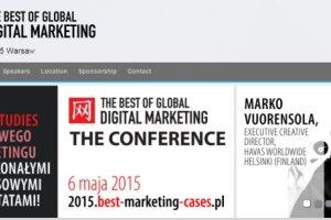 The Best of Global Digital Marketing już jutro w Warszawie