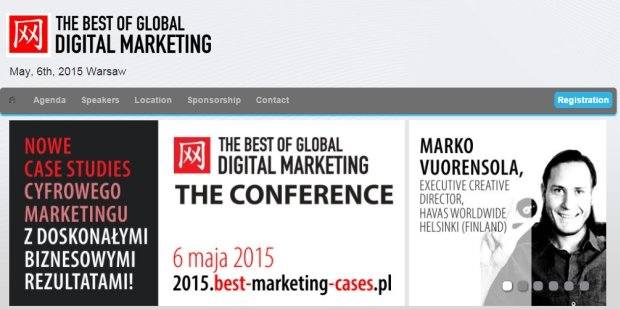 The Best of Global Digital Marketing już jutro w Warszawie