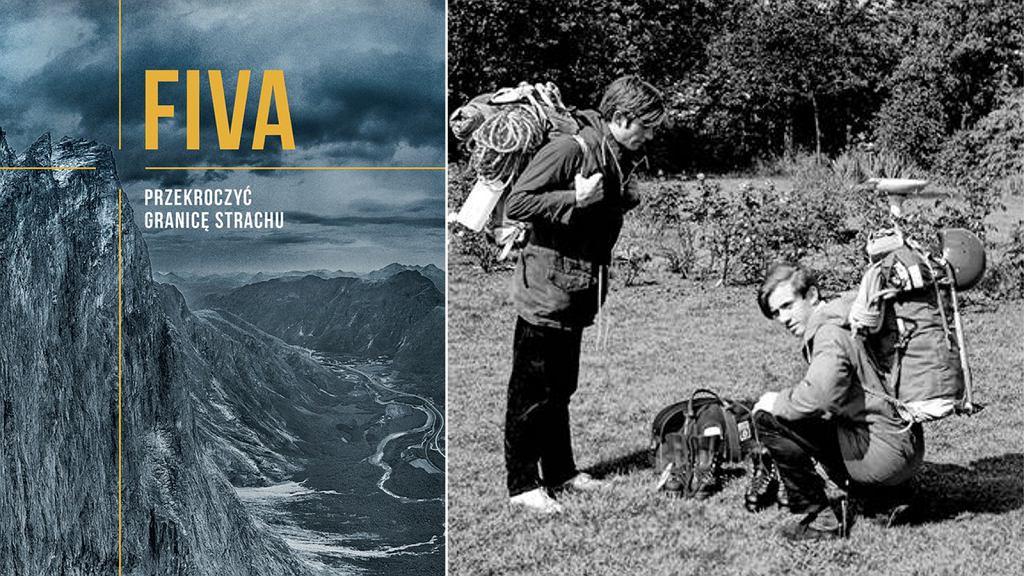Po lewej: okładka książki. Po prawej: John i Gordon przed opuszczeniem domu w hrabstwie Hertford i wyruszeniem w podróż do Norwegii, 27 czerwca 1969