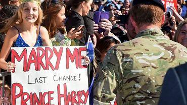 Victoria McRae, książę Harry